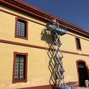 Rehabilitacion de fachada en Diputación de Sevilla