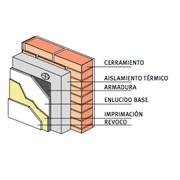 Distribuidores Weber - fachadas con aislamiento termico