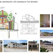50 casas unifamiliares y plaza pública en Can Bonastre, Piera (Barcelona)