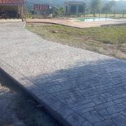final de proyecto con camino y playa piscina ejecutados