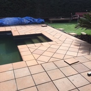 Finalización de coronamiento piscina