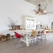 Una vivienda diáfana y con la decoración muy cuidada