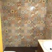 Cambio de bañera por plato ducha efecto pizarra a 2mt