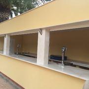 Construcción barra para salón de banquetes La Clariana