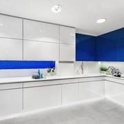 Cocina Hölst Blanca y azul