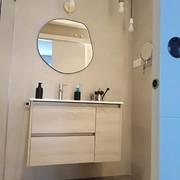 Frontal y lavabo