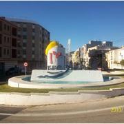Fuente decorativa en rotonda Torreblanca (Castellón)