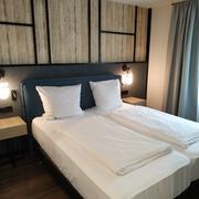 Habitación piloto hotel de Múnich.
