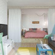 habitacion sin armarios