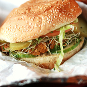 hamburguesa de lentejas