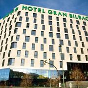 Salón principal del Hotel Gran Bilbao, cocina industrial y diferentes estancias