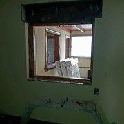 Hueco de ventana antigua