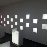 iluminación pared