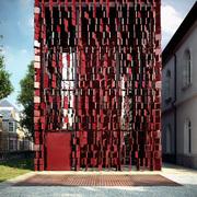 Infoarquitectura exterior fachada