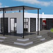 Infografía 3D reforma integral vivienda unifamiliar