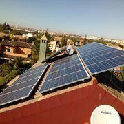 Impresionante instalación con 18 módulos fotovoltaicos