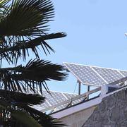 Instalación de placas fotovoltaicas sobre cubierta plana