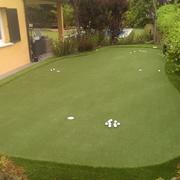 Instalación finalizada de putting green.