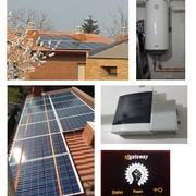 Instalación fotovoltaica para autoconsumo y producción ACS