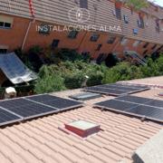 Instalación solar en Getafe