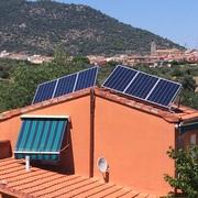 Instalacion solar fotovoltaica aislada.
