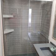 Interior de ducha