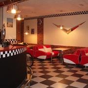 Interior del café-bar