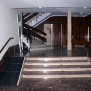 Interior del portal antes de las obras