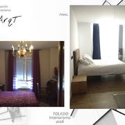 Interiorismo en una  vivienda  en Toledo