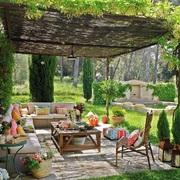 Jardín al aire libre