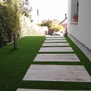 Jardín terminado