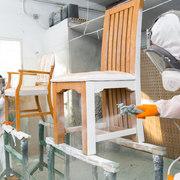lacado de todo tipo de muebles tanto balncos como en color