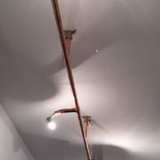 Lámparas de Tubería de Cobre
