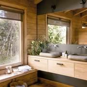 madera baño