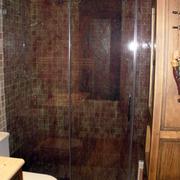 Mamparas de baño con telas