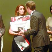Margarita Saiz Tejera, ganadora del Premio Joven Empresario 2014