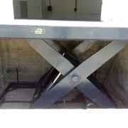 Instalación de mesa hidráulica, Barcelona