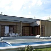 MH95 - Casa De Madera Bioclimática