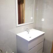 Reforma de un baño con microcemento