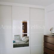 Armario modelo Japonés con espejo en 2/4 partes puerta central, Madrid