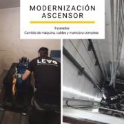 MODERNIZACIÓN DE ASCENSOR