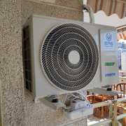 Distribuidores Mitsubishi Electric - Instalación Aire Acondicionado con Bomba Desagüe y Calentador de GAS
