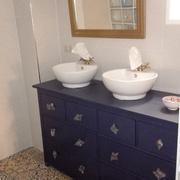 Mueble de Baño, Lavabos, Apliques y Espejo