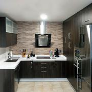 Muebles de cocina color wengue