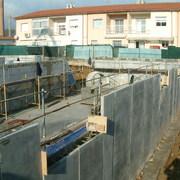 Construcción De Muros De Hormigón Para Contención En Parking Viviendas