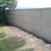 Muro de Piedra en Playa América - Nigrán
