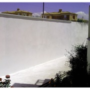 Muro reparado