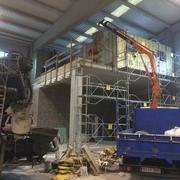 Construccón de altillo y adaptación de nave