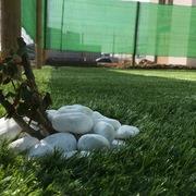 Instalación césped artificial sobre tierra