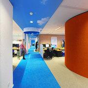 oficina colorida